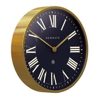 Mr Butler Wall Clock - Radial Brass