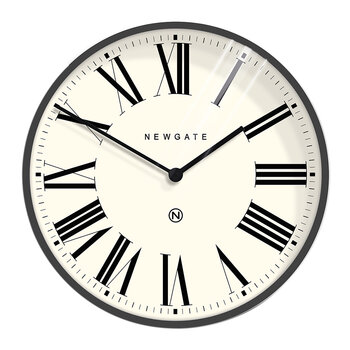Music Hall Wall Clock - Moonstone Grey