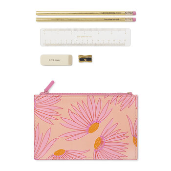 Falling Flowers Pencil Pouch