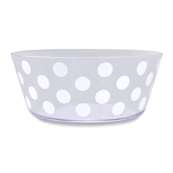 Jumbo Dots Acrylic Serving Bowl
