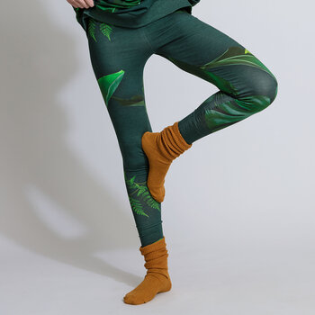 Women's Green Forest Lounge Trousers