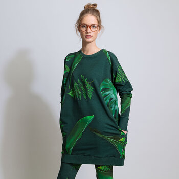 Women's Green Forest Sweater - S