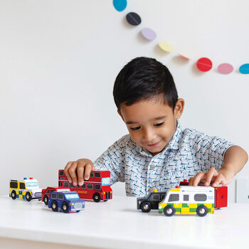 Kids London Car Set