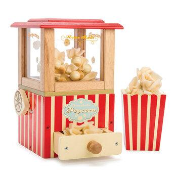 Popcorn Machine Wooden Toy