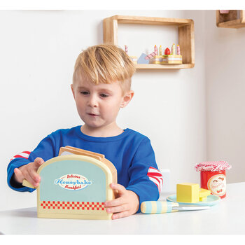 Toaster Set Wooden Toy