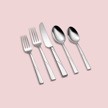 Park Circle 45 Piece Flatware Set