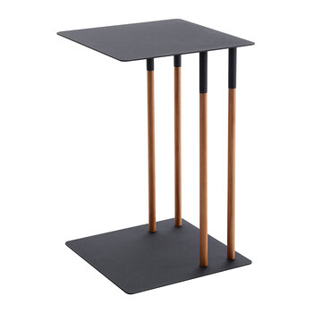 Plain Side Table - Black