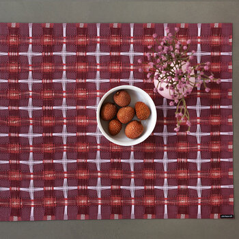 Hopscotch Rectangle Placemat - Sangria