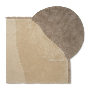 View Tufted Rug - Beige