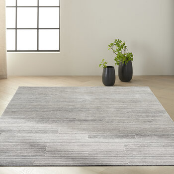 Abyss Rug - Silver/Gray
