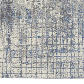 Torrent Rug - Ivory/Grey/Blue