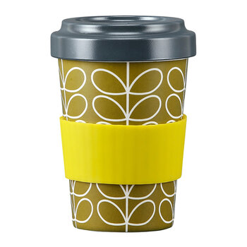 Bamboo Travel Cup - Linear Stem Lichen