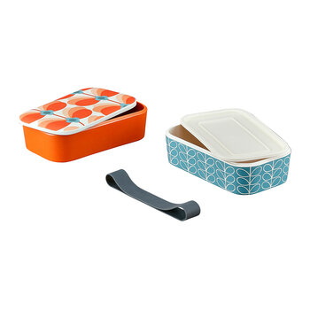 Butterfly Stem Bamboo 2 Tier Lunch Box