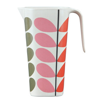 Solid Stem Bamboo Pitcher - Multi