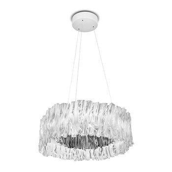 Accordeon Ceiling Light - Silver