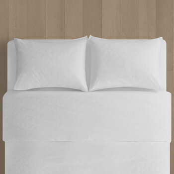 CK ID Quilt Cover - White