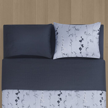Wildflower Duvet Cover - Night Sky/Bridge
