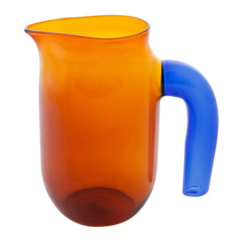 Jochen Holz Glass Pitcher - Amber - Small