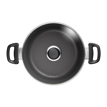 Classic Induction Casserole Dish with Lid - 24cm