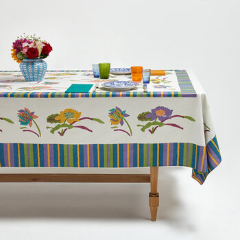 Japanese Tablecloth - White - 180x180cm