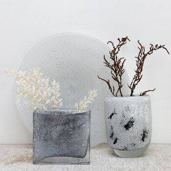 Square Vase - Nebelung - Small