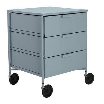 Mobil Mat 3 Drawer Wheels - Pale Blue