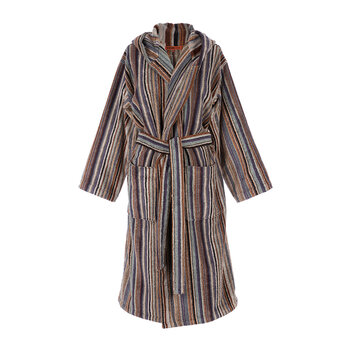Jazz Hooded Bathrobe