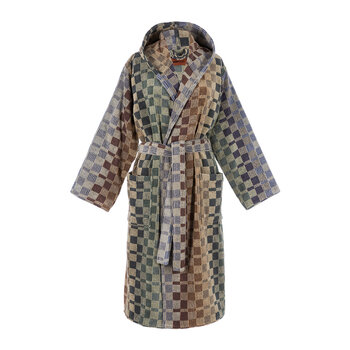 Yassine Hooded Bathrobe - 165