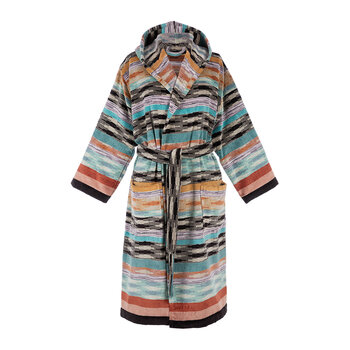 Ywan Hooded Bathrobe - 159