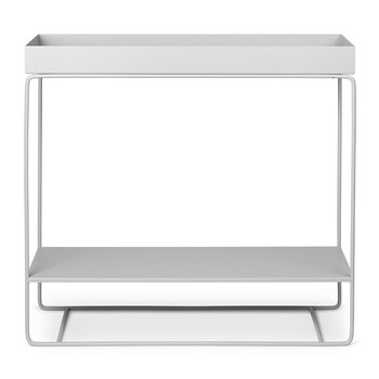 Two Tier Plant Box - Light Gray