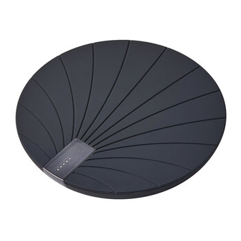 Bali Wireless Charging Pad with Battery - Black