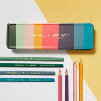 Paul Smith Supracolour Pencils - Set of 8