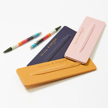 Paul Smith V3 Ballpoint Pen - Damson