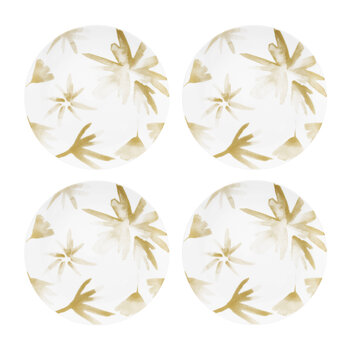 Blossom Porcelain Side Plates - Set of 4
