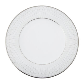 Prism Porcelain Dinner Plates - Set of 4