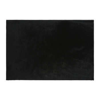 Cowhide Placemats - Set of 2 - Black