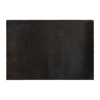 Cowhide Placemats - Set of 2 - Chocolate