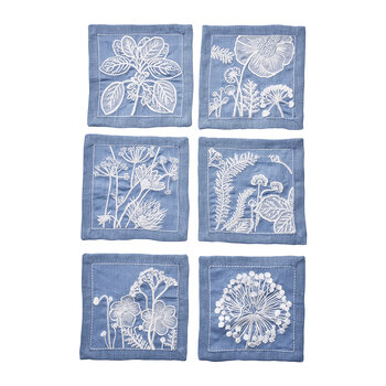 Cocktail Napkins - Set of 6 - Sunprint