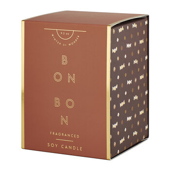 Boxed Glass Candle - Bon Bon