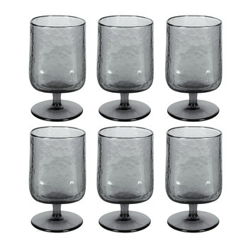 Hammered Wine Glasses - Set of 6