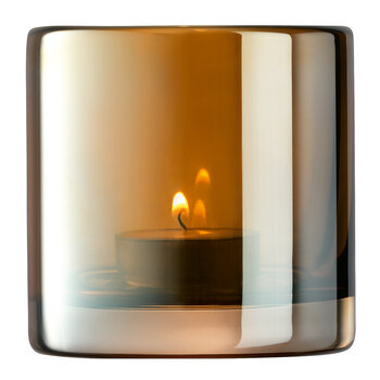 Epoque Tealight Holder - Amber