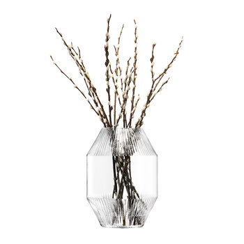 Rotunda Vase - Clear