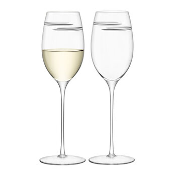 Verso White Wine Glass - Set of 2