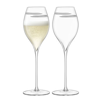 Verso Champagne Tulip Glass - Set of 2