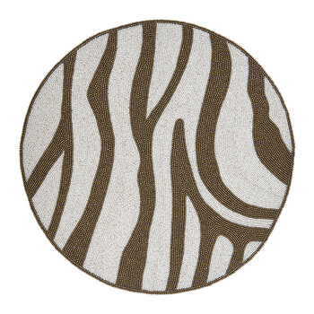 Set de Table Zebra - Marron