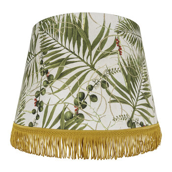 Tropical Garden Cone Lamp Shade