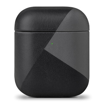 Marquetry Airpods Case - Black