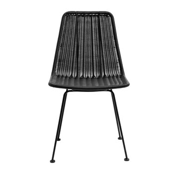 Irony Dining Chair - Black
