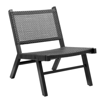Vasai Lounge Chair - Black