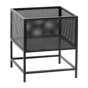 Wira Iron Planter - Black - Small